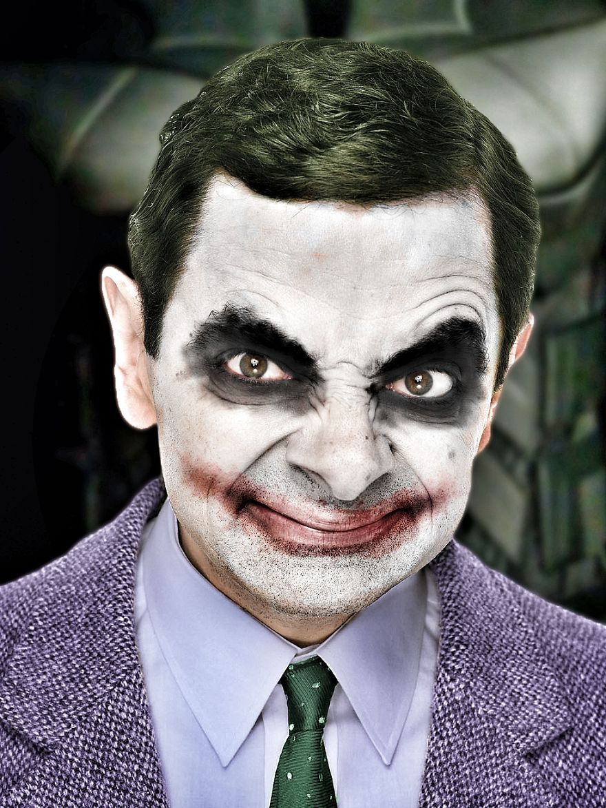 People Photoshopped Mr  Bean U0026 39 S Face Onto Things  And It Is