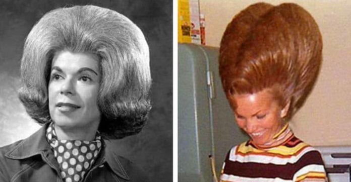 12 Gigantic Hairstyles From The 60s That Are Hard To