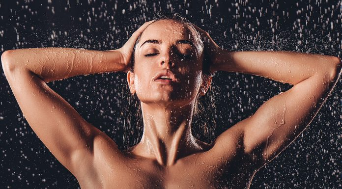 body part shower personality