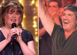 susan boyle earns the golden buzzer
