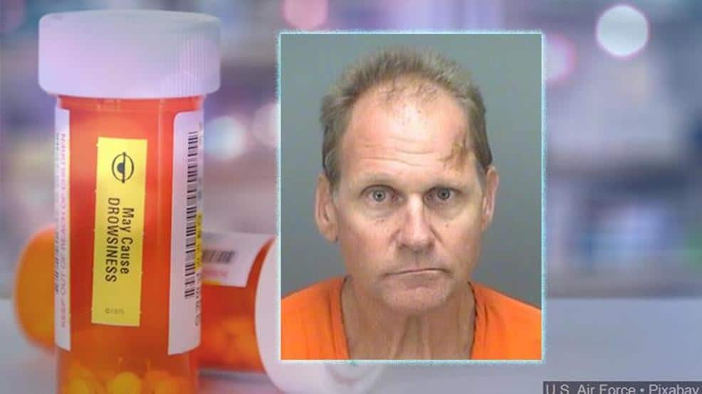 man Steal laxatives instead of Opioids