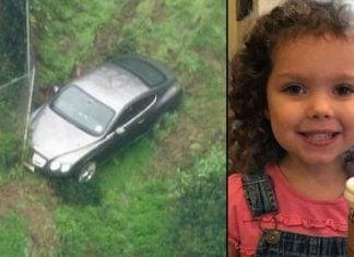 Cops See Someone Sleeping Next To Missing Girl